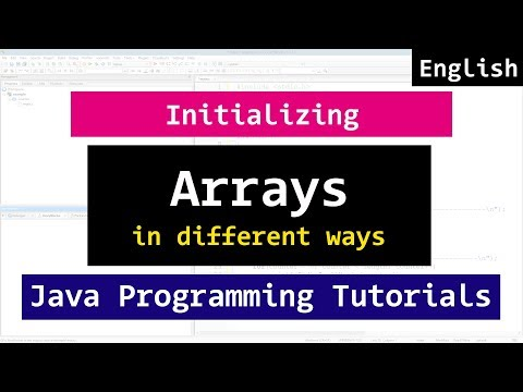 Initializing Arrays in different ways in Java Programming