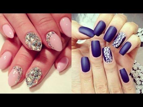 Cute Easy Classy Nail Art Glittertip Nail Art Classy Nails Ideas