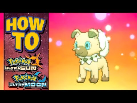 HOW TO GET Event Rockruff with Own Tempo in Pokemon Ultra Sun and Moon