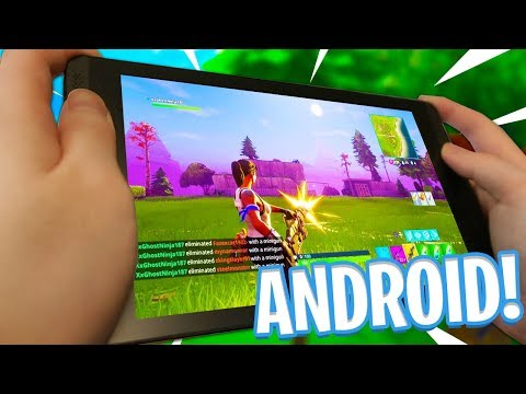 FORTNITE MOBILE ON ANDROID! - How to Download Fortnite on Android Tutorial