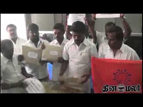 Dhoti Sent to Chennai Cricket Club by Hindu Makkal Katchi from Kovai - DInamalar July 15th News