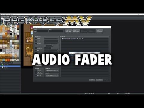 Audio Fader Plugin - RPG Maker MV