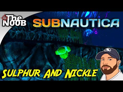 Subnautica: Where to Find Nickle and Sulphur! S01 E27 | TheNoob Official