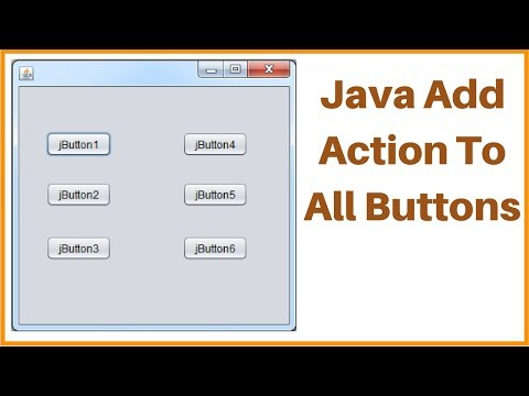 Java - How To Add Action To All JButtons In A JPanel Using Java NetBeans [ with source code ]