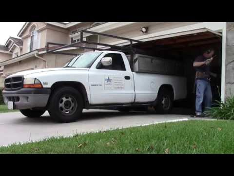 How to remove a Garage Door...