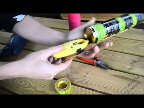Ping Pong Mini Cannon - Homemade Mini Weapon