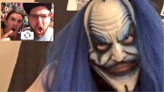 SCARY FACETIME w/ KLOWN STALKER TO END THIS FOR GOOD!