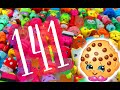 Shopkins Mania Watch Me Opening 141 Shopkins Toys With Ultra