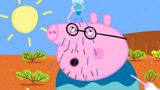 Peppa Pig Official Channel | Peppa Pig Flying to the Outback - Earth Day Special