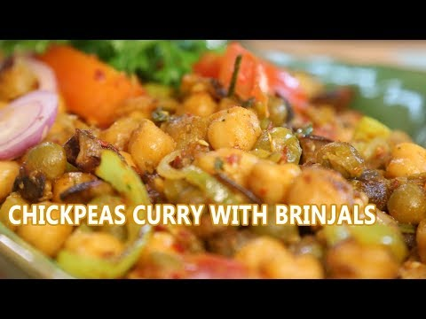Chickpeas Curry (Channa Masala) | Mallika Joseph Food Tube