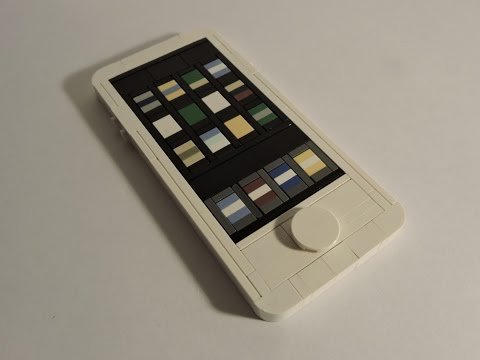 How To Make A Lego Iphone Turned On Version