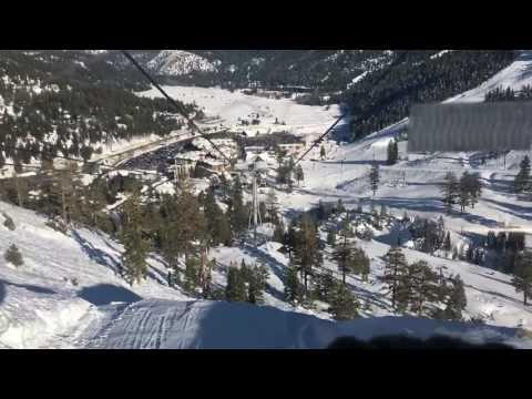 Time lapse Squaw Valley Gondola ride