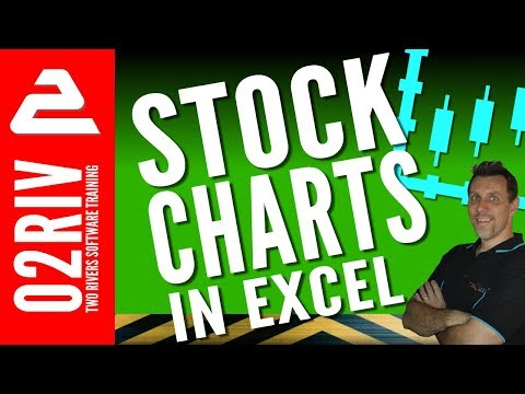 Stock Charts in Excel 2016 (No Fluff)