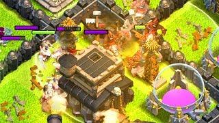 HOGS & HEALERS!  TH9 Dark Elixir Time   Clash of Clans