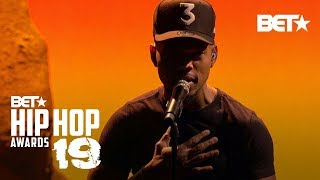 Chance The Rapper Hits The Stage & Performs 'Sun Come Down' | Hip Hop Awards '19