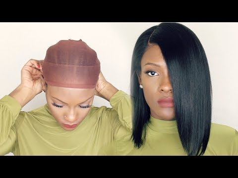 How to wear a Wig { with No GLUE NO GEL }