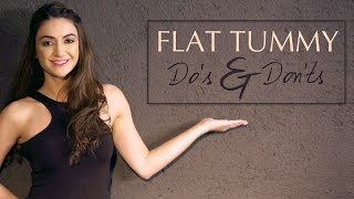 How To Get A Flat Stomach - Diet And Workout Tips