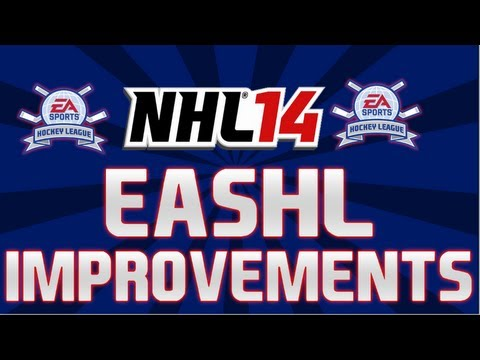 NHL 14: EASHL Improvements and New Features!