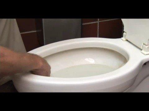 Tough toilet stains!