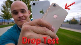 iPhone 8 DROP TEST!! -