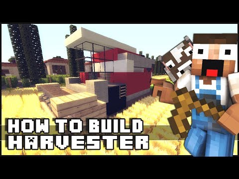 ► Minecraft : How to Make - Harvester