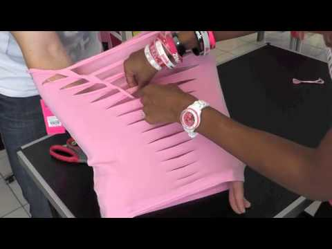 How to cut your Zumba Racerback for the Zumbathon Charity Event 2014...!