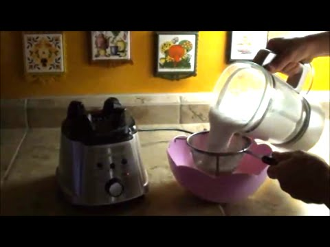 How to make ALMOND MILK in a BLENDER - easy recipe TASTES GREAT