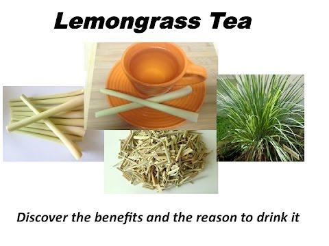Lemongrass tea from RaGardenLV.
