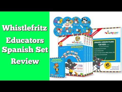 Whistlefritz Educator's Spanish Collection Review