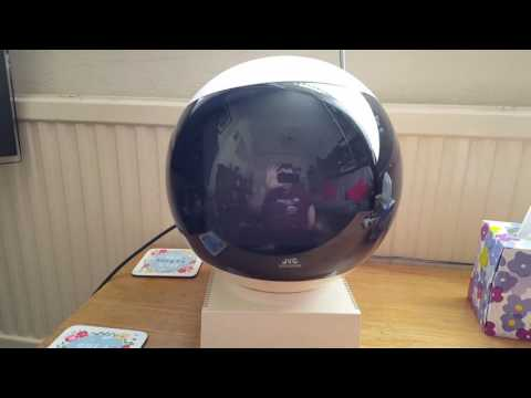 JVC video sphere up and running With Sky Tv 1970s Vintage Tv