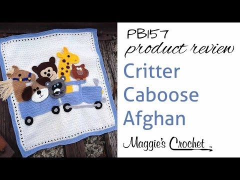 PB157 Critter Caboose Afghan Product Review