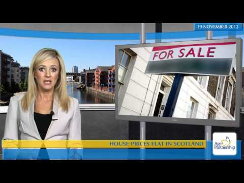House prices flat in Scotland