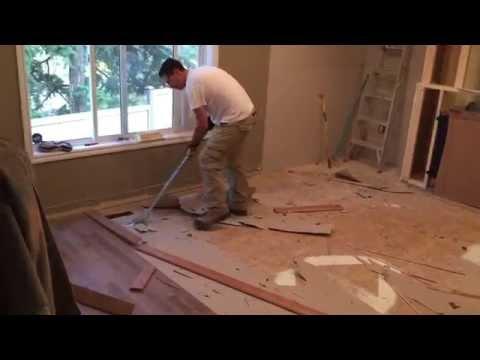 Artillery Tools - Hardwood flooring removal!