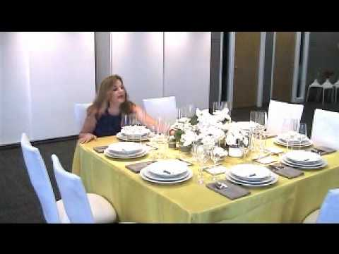 Decorating ideas for your dinner table.wmv