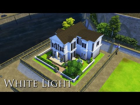 The Sims 4 Build - White Light (Paris inspired)