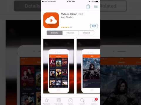 Install/Get Videos Cloud iOS 10-9.3.5 watching Free movies TV Shows (No jailbreak) iPhone iPad iPod