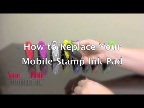 How to Replace Your Mobile Stamp Ink Pad