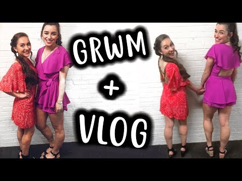 COLLEGE SEMI-FORMAL GET READY WITH ME + VLOG! The University of Georgia