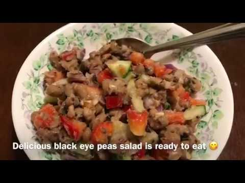 Black Eye Peas Salad with Instant Pot