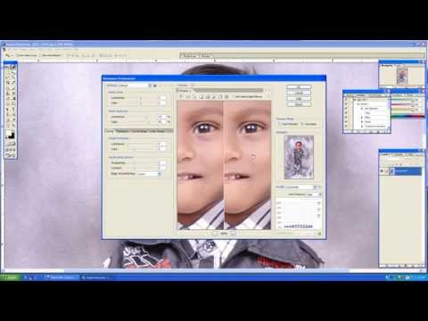 Photoshop Tutorial, Photoshop 7 0 face cleaning,ps