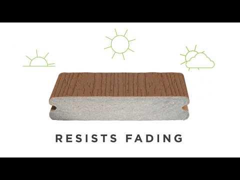 Trex Composite Deck Shell Benefits