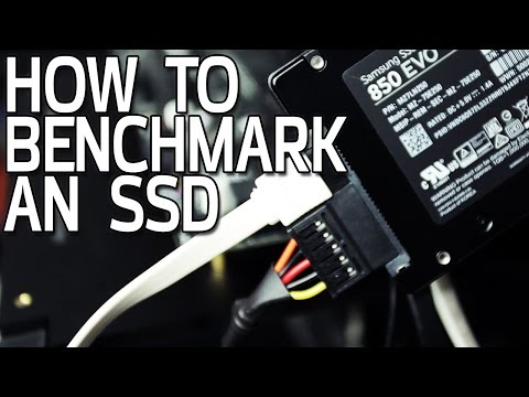 How To Benchmark an SSD