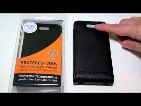SilverShield radiation reducing leather case iPhone Blackberry Samsung Galaxy S2 review 2012