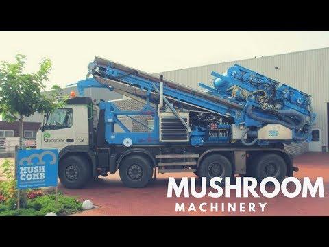Mushroom Machinery - Sensational Emptying Unit & Premium Head Filling Machine