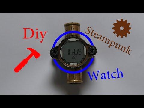Diy Steampunk Watch Showcase