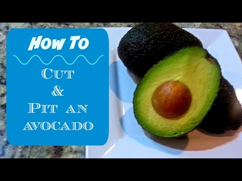 How To Pit An Avocado With A Spoon