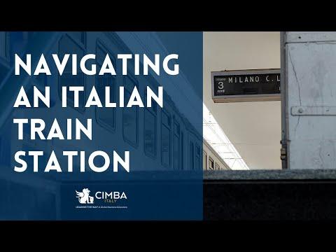 How to Navigate an Italian Train Station (Virtual Tour)