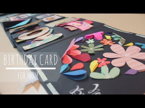 DIY: Cutest Birthday Scrapbook Idea for MOM | Easy Cards Idea