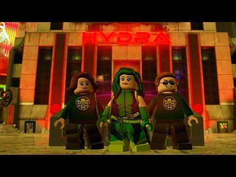 LEGO Marvel Super Heroes 2 Madame Hydra Unlock Location + Free Roam Gameplay