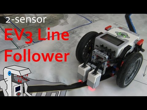 How to Make an Effective EV3 Line Follower in 2 Minutes!